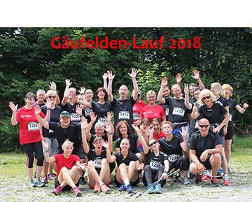 Nordic Walking, Laufgruppe